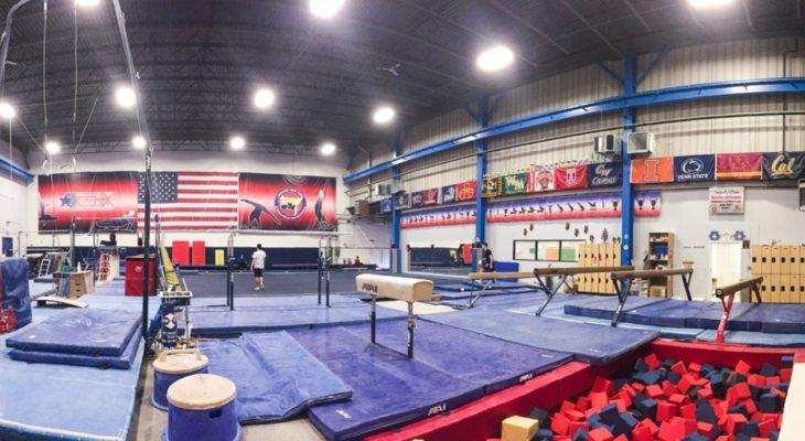 Gymnastics facility (2)